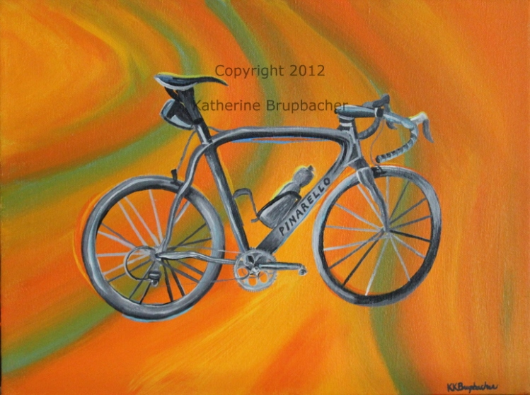 Pinarello Bike Painting Web